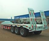 Remorque inférieure de garçon, 40 tonnes de bâti de camion de remorque inférieur