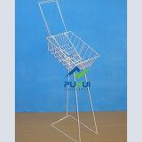 Fußboden-stehender Metallregenschirm-Ausstellungsstand (PHY2024)