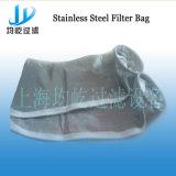 Bolso de filtro líquido del anillo del acero inoxidable Ss-304