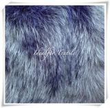 Nuova pelliccia di Fox di lusso del Faux con il mucchio lungo