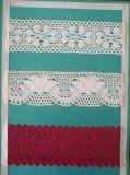Hilo de algodón de máquina del tejido del cordón