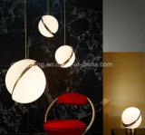 Luz de suspensão acrílica da originalidade moderna para a lâmpada decorativa do pendente da decoração Home