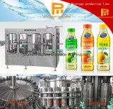 Appleの満ちるキャッピング機械を洗うオレンジナシジュース
