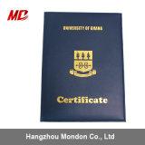 De geavanceerde Dekking van het Diploma van de Graad van de Dekking van de Graduatie met het Omzomen van het Katoenflanel Pu