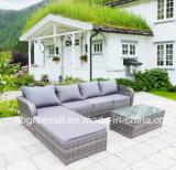 Угловой диван для отдыха на открытом воздухе ротанга Садовая мебель