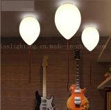 Lâmpada moderna do teto do balão do diodo emissor de luz para a iluminação decorativa do quarto dos miúdos