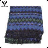 Sciarpa tribale del jacquard del reticolo delle donne del Knit geometrico acrilico della macchina