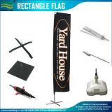 Изготовленный на заказ напольные флаги летания с основанием спайка (NF04F06003)