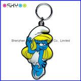 Custom 3D Logo Promoção Gift Soft PVC Rubber Keychains