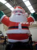 2014 وصول جديدة ضخمة نفخ بابا نويل عيد الميلاد الديكور