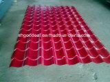 25-210-1050 PPGL acanalado galvanizado prepintado PPGI para el material para techos Tite del metal