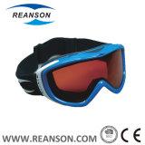 Lunettes de ski de qualité avec de diverses couleurs pour l'adulte