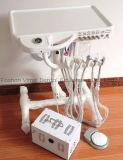 4 Loch zahnmedizinische Portabl Geräten-Geräten-Zahnarzt-Anlieferungs-Mobile-Karre