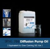 Pétrole de pompe de diffusion de silicones Dfso704 (substitue Dow corning DC704)