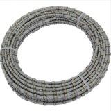el alambre de cuerda del diamante del corte por bloques del granito 37bpm de 11.0X6.0m m vio