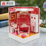 2017 Mini DIY Dollhouse Toy de madeira