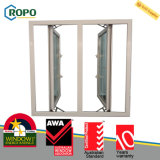 2016 최신 PVC Windows는과 문 석쇠 디자인, UPVC Windows를 이중 유리를 끼웠다