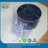Cortina de tira de PVC com economia de energia azul e industrial