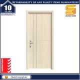 PVC composite en bois intérieur Porte en bois de mélamine