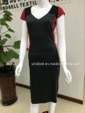 Модное платье конструкции отрезока для женщин