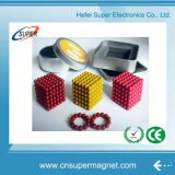Fuerte colorido Puzzle personalizado de neodimio de 5 mm bolas magnéticas