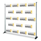 Showcase Showroom Stretch Striaght Banner Stand