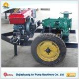 Bomba de agua móvil de la irrigación del motor diesel