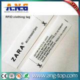 Contrassegno passivo tessuto dei vestiti di RFID per la gestione dei vestiti
