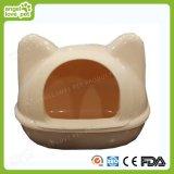 Het Plastic Huis van uitstekende kwaliteit van de Kat van de Vorm van het Gezicht van de Kat & het Huis van de Hond
