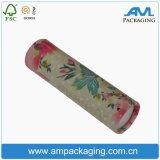 Tubo de papel de té chino del cilindro de impresión de papel Kraft caja de embalaje Caja de té