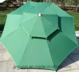 Parasol, de Grote Paraplu van de Zon, Openlucht, het Meubilair van het Terras