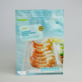 Nahrungsmittelgrad-Stützblech-Plastiktasche-Reißverschluss-Verschluss-Beutel-flache Unterseiten-Fastfood- Beutel-mehrschichtiger Beutel