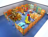 Placa de jogo educacional montada em parede para crianças