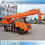 Hydraulic Boom 8 Ton New Condition Crane with Chassis