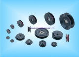 La bobina di bobina di ceramica di plastica della tessile ha flangiato puleggia della guida di collegare di Conbined (HCR010) il Od 100mm