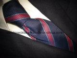 (PStrip26-30) Haute qualité Jacquard en soie tissée, cravate en polyester Cravate pour hommes