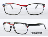 Frame agradável super popular de Eyewear do acetato de quatro cores