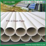 Tubos de drenagem subterrânea de PVC-U