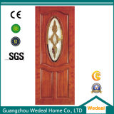 Personnaliser l'intérieur laminé PVC en bois porte composite