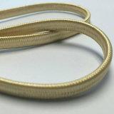 Câble de cavalier d'or de connexion de la tête Cat7 en métal de tressage