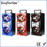 5W+5W draagbare Houten Spreker Bluetooth met de Karaoke van de FM van USB BR (xh-ps-730)