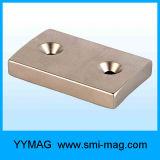 Countersink de Permanente Magneten van het Neodymium van het Blok