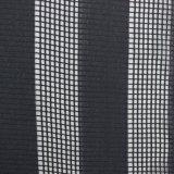 Banda bianca e nera poco tessuto del reticolo della grata