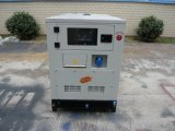 Тип тепловозный производя комплект 20kVA Denyo с сенью