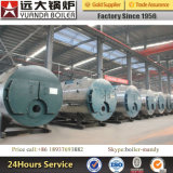 High-Efficiency 6ton/H 600000kg horizontales Öl-Gasdampfkessel
