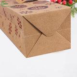Bolsas de papel plegables de Kraft del bolso de Prefessional para el fabricante de empaquetado del regalo (KG-PB084)