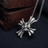 Retro Gotische DwarsRoestvrij staal van de Juwelen van de Manier van de Tegenhanger van de Halsband 316L