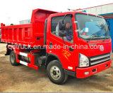 Carro de volquete de FAW, carros de vaciado ligeros de 5 toneladas