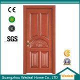 Puerta de lujo de gama alta de madera sólida (WDB02)