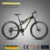 Bicyclette de montagne de suspension de l'aluminium 100mm de Xt Groupset M8000-20speed 27.5er pleine